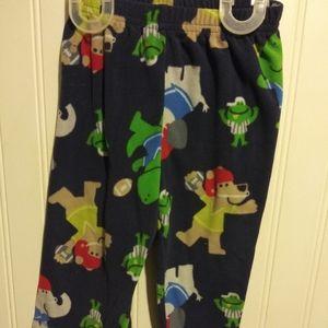 Blue pajama pants